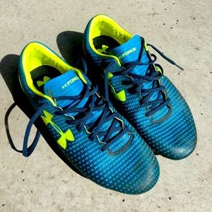 🔵Under Armour Cleats